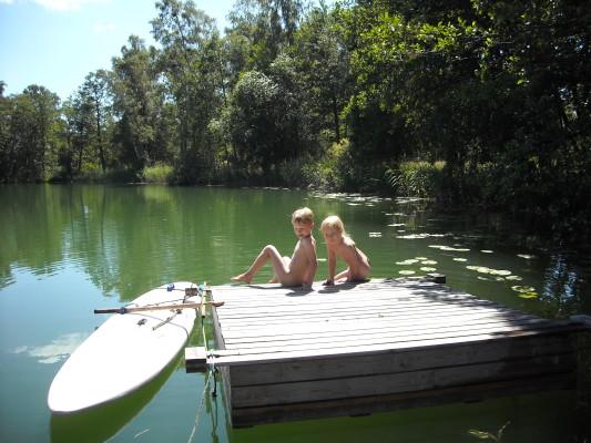 Övrig - Sommar vid Stakasjön.