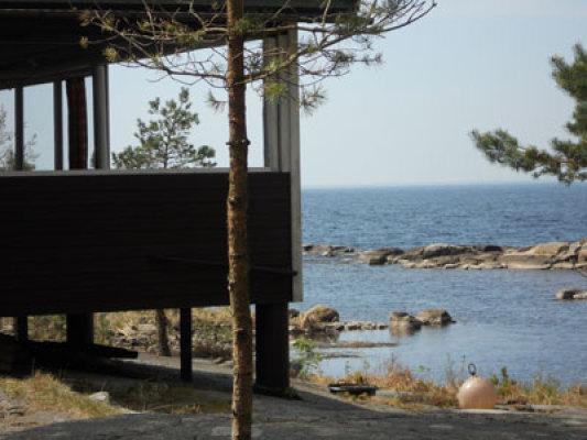 På sommaren - terrass