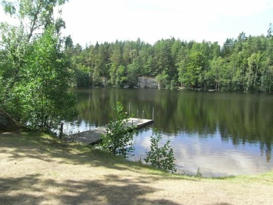 Övrig - Badplatsen vid Ruesjön.