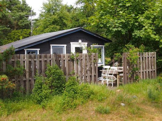 På sommaren - Uteplats/terrass i både söder o norr