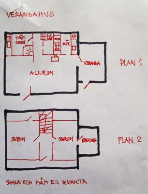 Planritning -