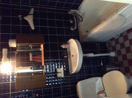 Övrig - Badrum med toa och badkar/ dusch.
