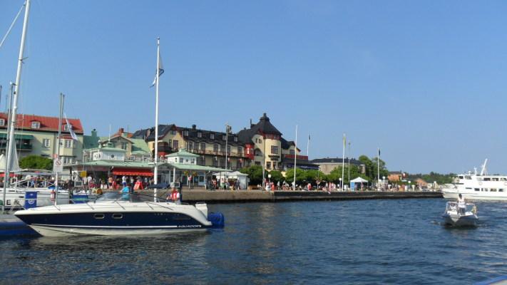 Omgivning - Vaxholms hamn