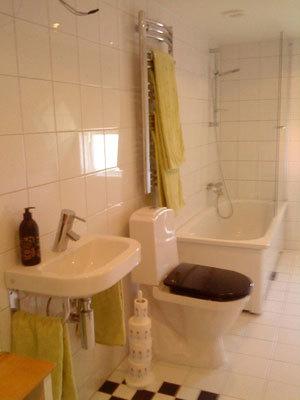Badrum - badrum med badkar