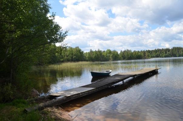 Övrig - ca 2km bort, samma sjö