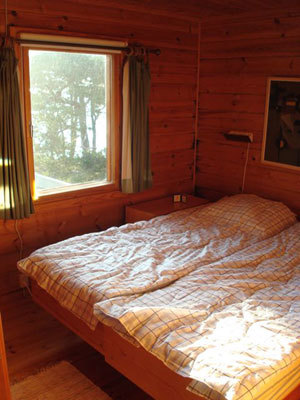 Other - bedroom with double bed in the main house