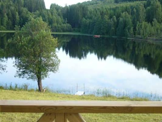 Övrig - Utsikt mot vattnet och bryggan