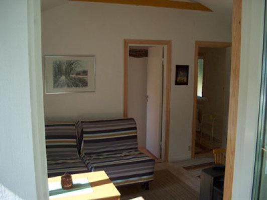 Vardagsrum - komb. allrum med 2 st sängplatser