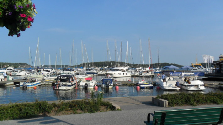 Utomhus - Vaxholms gästhamn