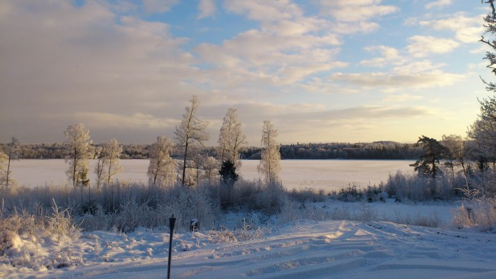 view winter -