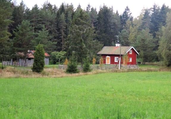 På sommaren - Torpet Kristineberg med omgivning