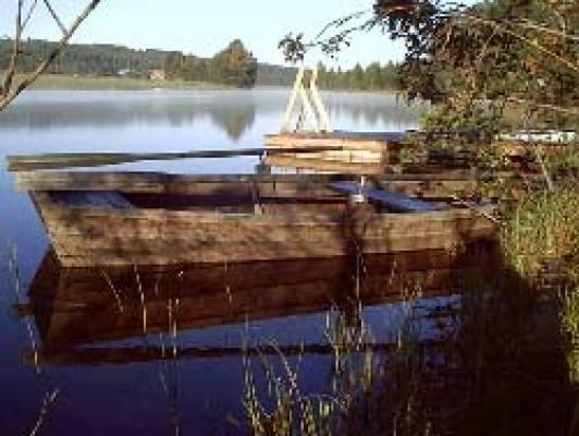 Övrig - bryggan med båt
