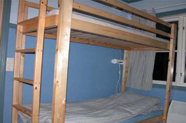 Sovrum - 2.sovrum med våningssäng