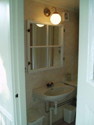 Badrum - En av Toaletter med dusch