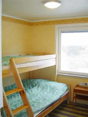 Schlafzimmer - Schlafzimmer mit Familien-Etagenbett