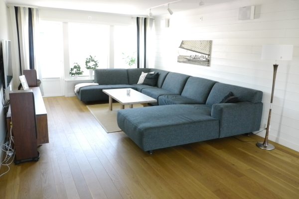 Living room - Living room with a big sofa and flat screen TC