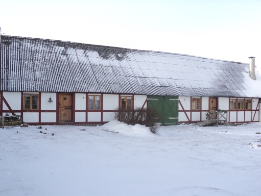 Ansicht Winter -
