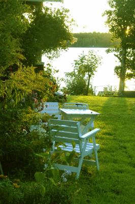 Utomhus - Tag morgonkaffet med sjöutsikt