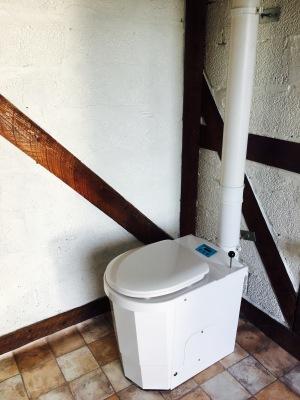 Badrum - Förbränningstoalett