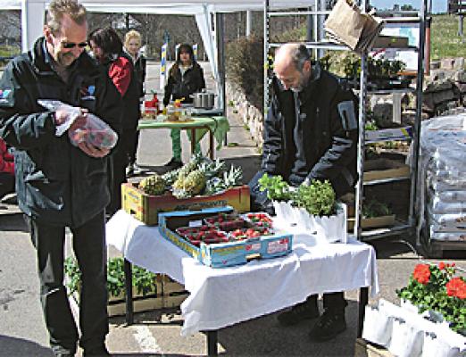 Omgivning - Sommarmarknad i Rydsnäs