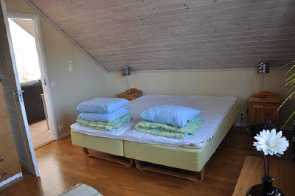 Sovrum - Sovrum med dubbelsäng + en bädd...