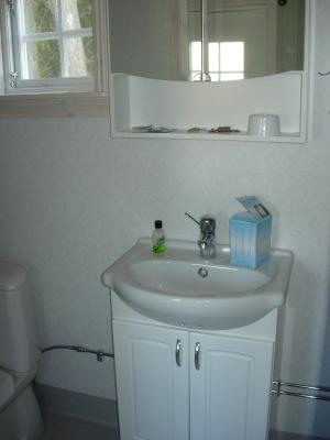 Badrum - Badrum med WC och duch.