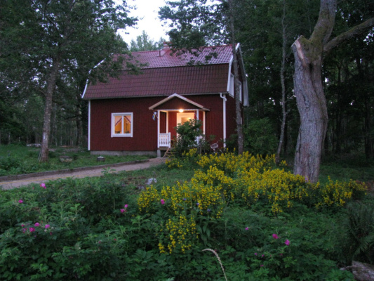 På sommaren - Nyrenoverat semesterhus i vackert skogslanskap