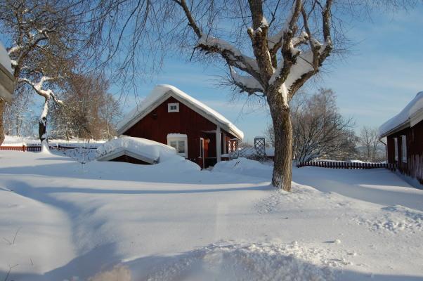 på vintern - Ett snöigt Börsebo
