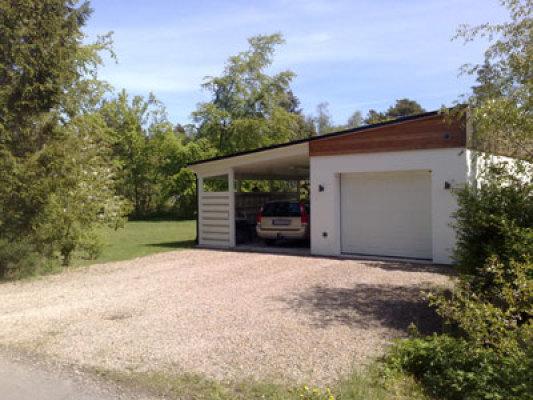 Utomhus - med garage