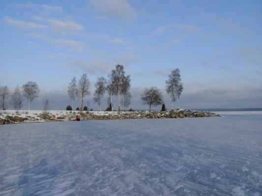 på vintern - Mien på vintern