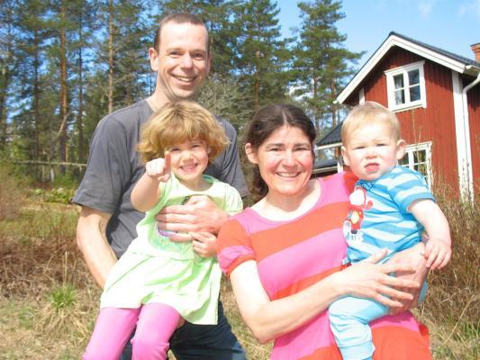 Hyresvärd - Frank, Jolanda och våra barn (år 2015)