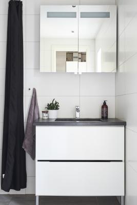 bath room - Modern bathroom with WC, a spacious shower and underfloor heating