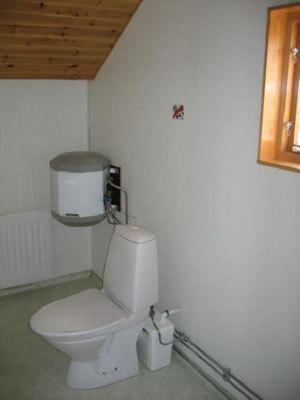 Badrum - badrum med toalett