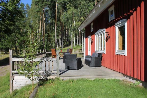 Terrass - Soffgrupp på terrassen