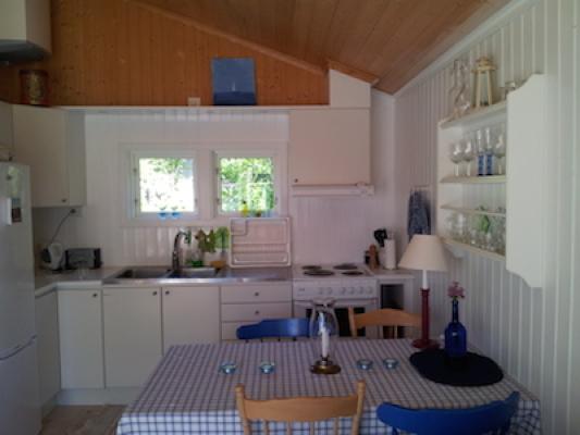 Kök - Köksavdelningen i allrummet