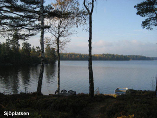 På sommaren - sjön