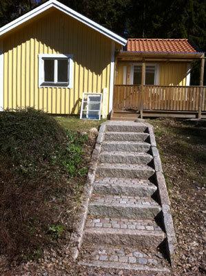 på sommaren - trappan upp