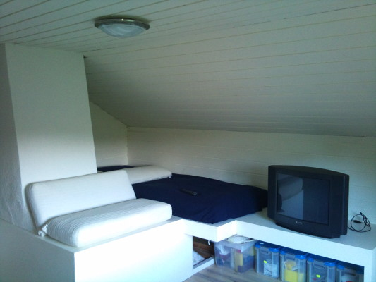 Sovrum - Sovalkov övervåning rum1