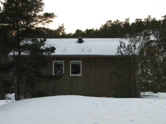 View winter - holiday home