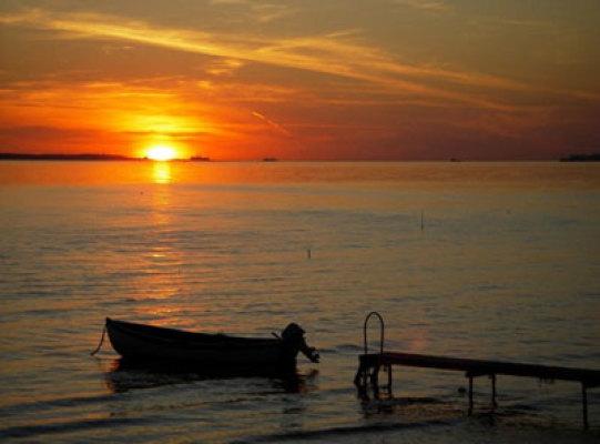 Övrig - solnedgång
