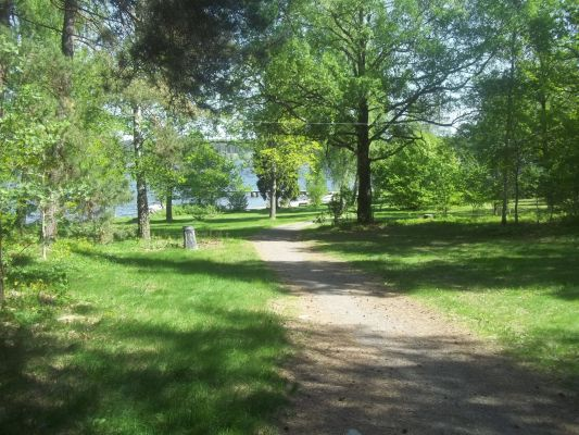 på sommaren - Södergarns badplats på bara 10 minuters promenadavstånd