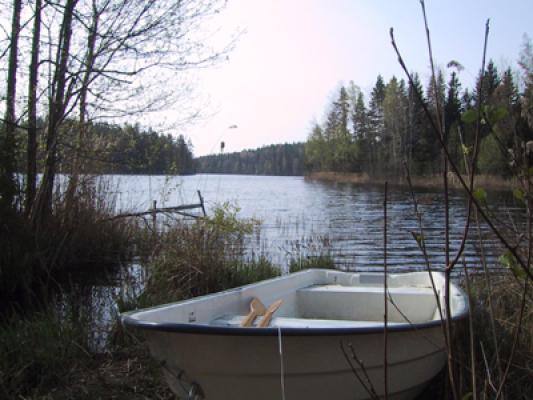 Övrig - sjön med båten