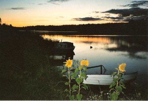 Övrig - sjön på kvällen