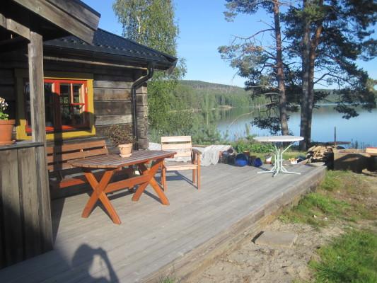 Terrass - Altan med Utemöbel + grillplats